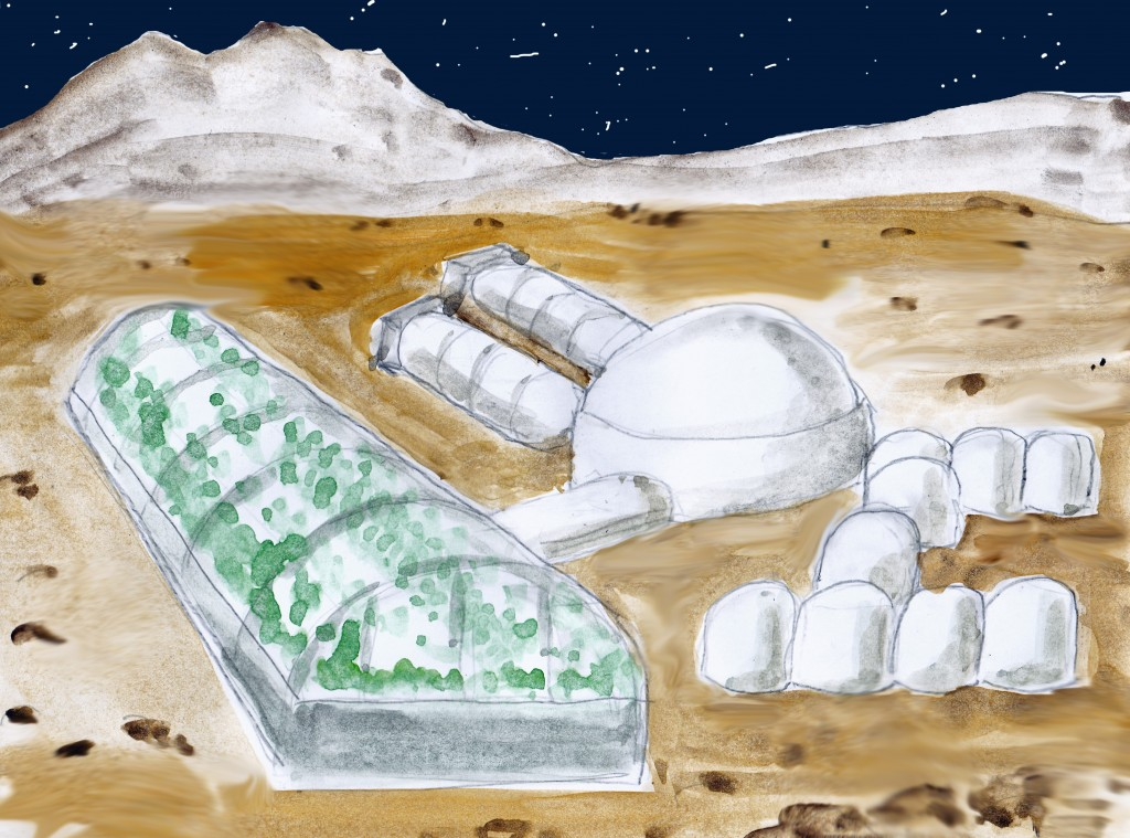 Kolonie auf dem Mars -eine reale Zukunftsoption