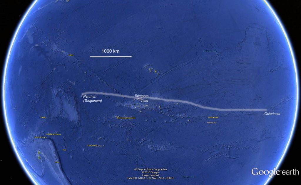 Osterinsel-Penrhyn-Atoll