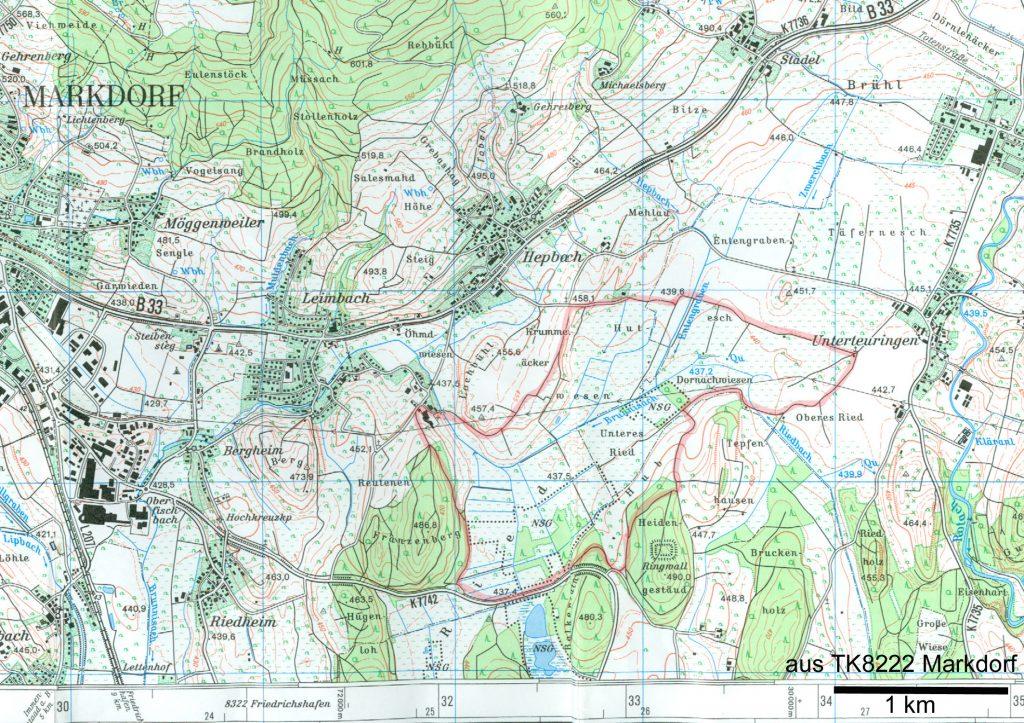 Exkursionsweg um das Hepbacher-Leimbacher Ried